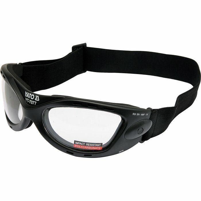 Ochranné brýle s páskem typ 2876 YATO