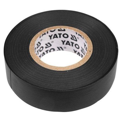 Páska izolační, 19 x 0,13 mm, délka 20 m, černá YATO