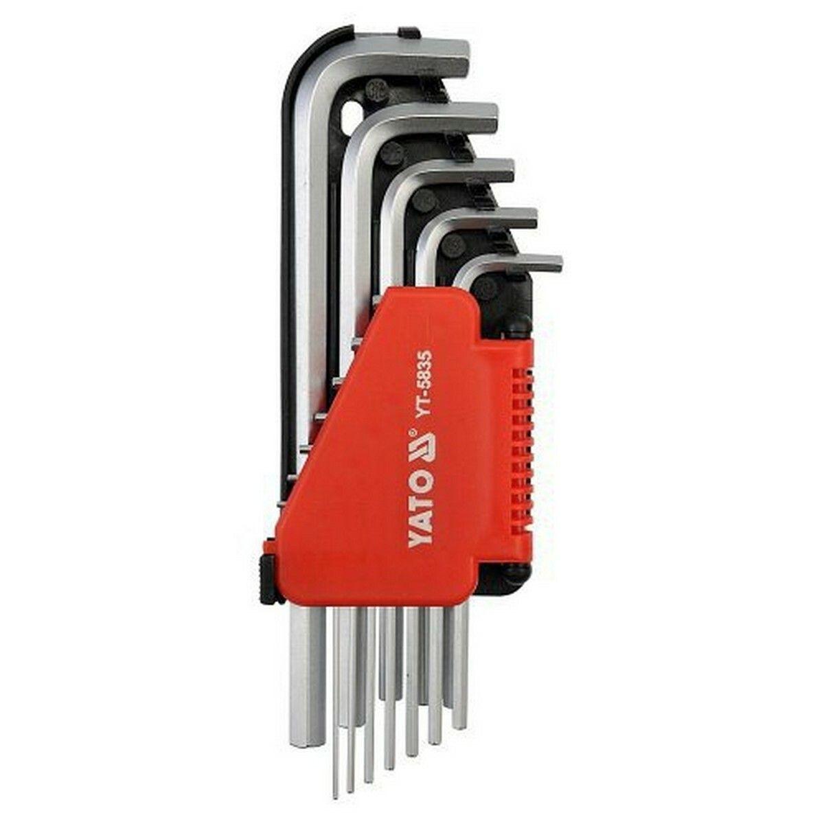 Sada klíčů imbus 12 ks delší YATO