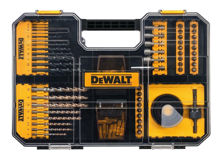 Sada bitů a vrtáků kompatibilní se zásuvkami TSTAK IV, DT71569 100dílná DEWALT