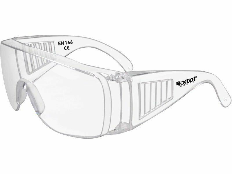 Brýle ochranné polykarbonát, čiré, panoramatický zorník třídy F EXTOL-CRAFT
