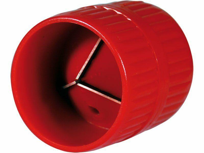 """Odhrotovač trubek vnitřní i vnější, plastový, O 4-38mm, (O 3/16""""-1 1/2""""), EXTOL PREMIUM"""