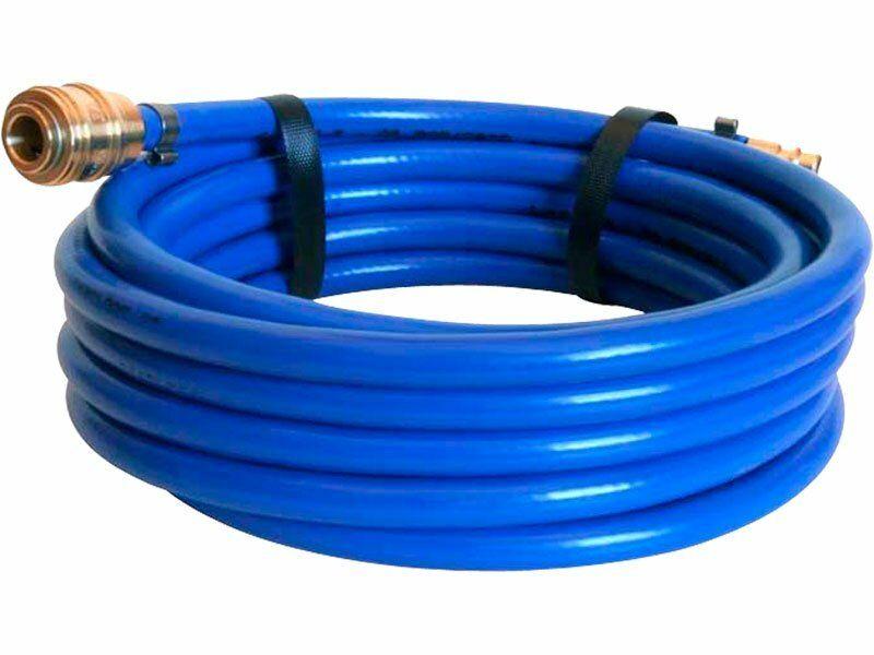 Hadice vzduchová PVC s rychlospojkami, délka 10m, O vnitřní/vnější 6/12mm, EXTOL PREMIUM
