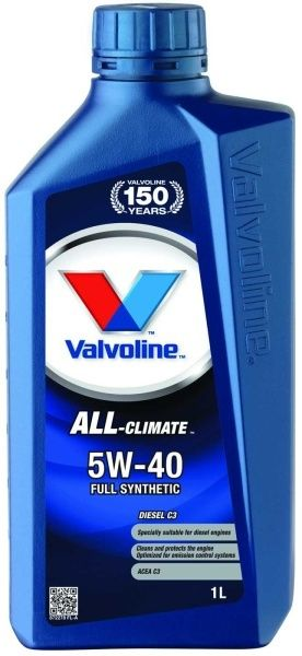 Valvoline All Climate Diesel C3 SAE 5W40 1L  Durablend