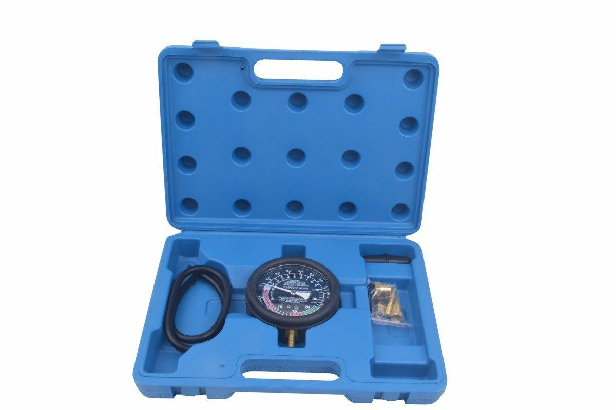 Vakuometr + tester tlaku a podtlaku paliva QUATROS QS30190