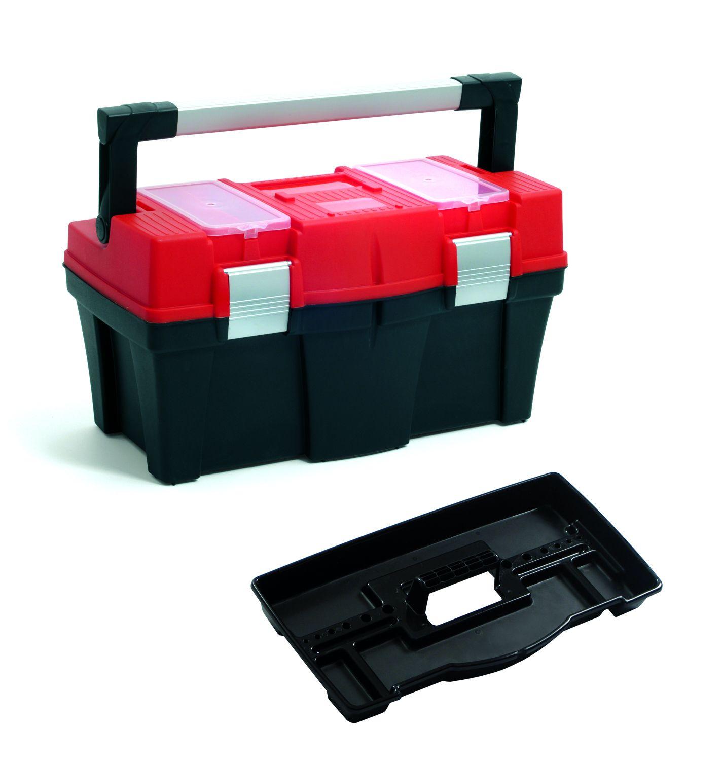 """Plastový box na nářadí 18"""", nosnost 13 kg, APTOP SIXTOL"""