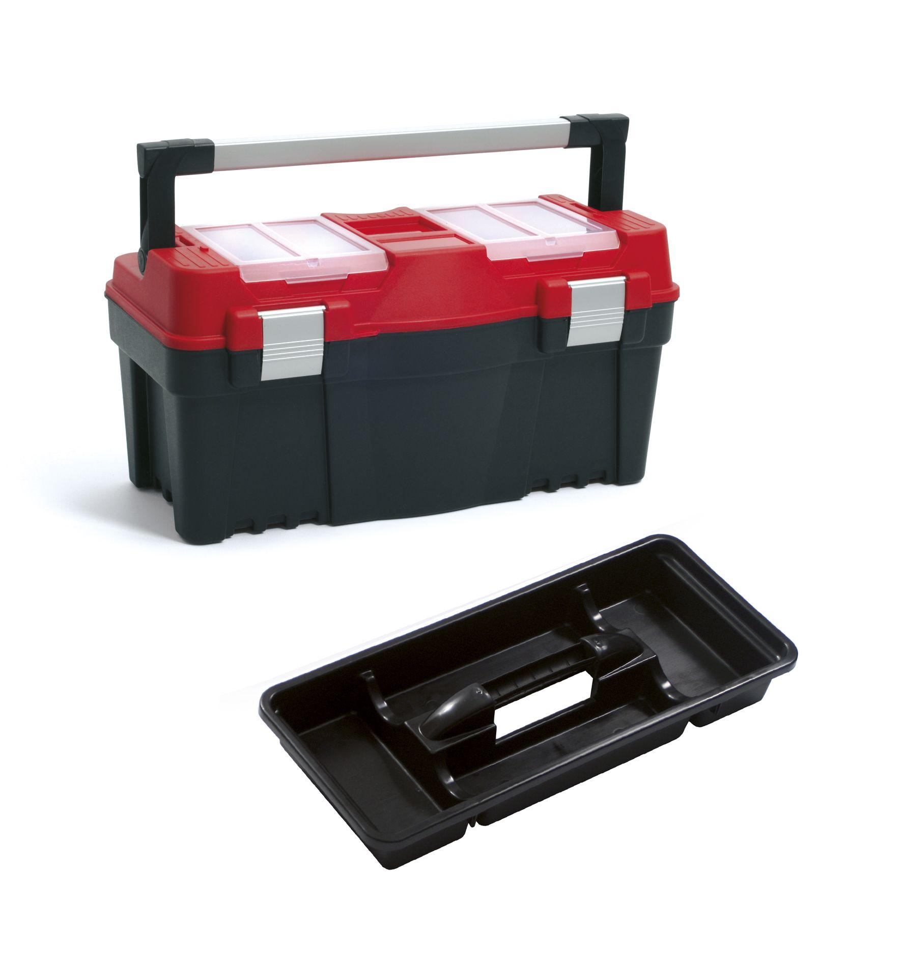 """Plastový box na nářadí 22"""", nosnost 20 kg, APTOP SIXTOL"""