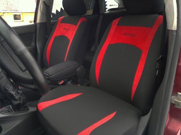 Autopotahy Design červené SIXTOL