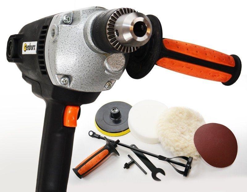 Kombinovaný přístroj – vrtačka, bruska, leštička a míchadlo PI201 GENBORX