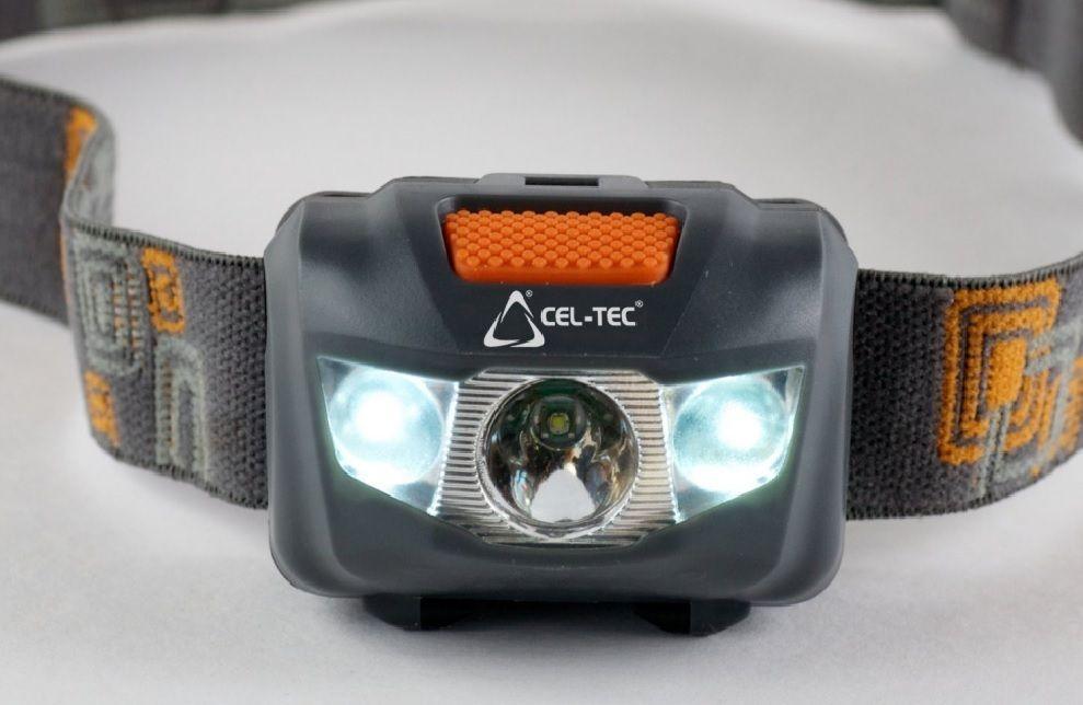 Čelová svítilna Cel-Tec HL125. voděodolná