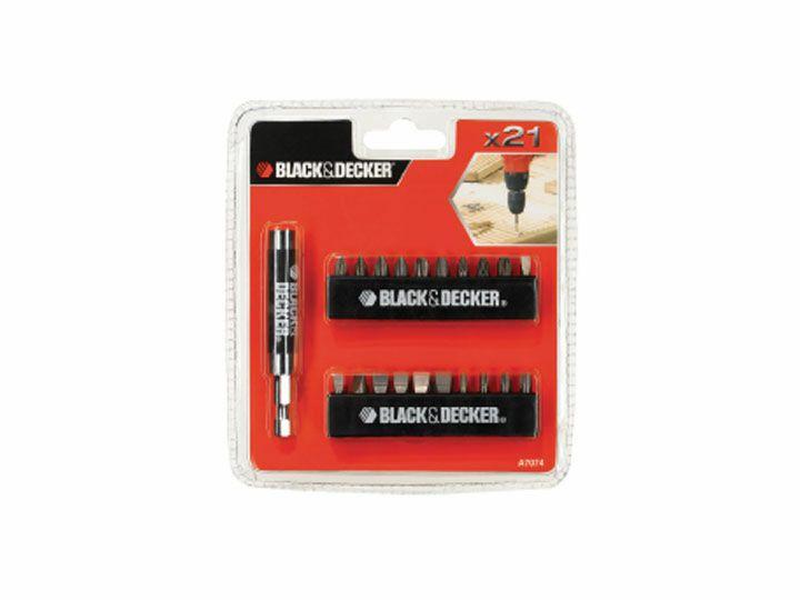 Sada šroubovacích bitů BLACK&DECKER A7074