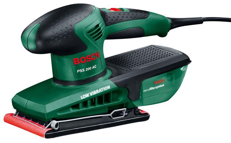 Vibrační bruska Bosch PSS 200 AC, 0603340120