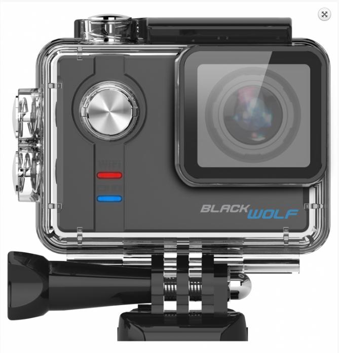 Sportovní kamera BlackWolf, CZ menu 1605-045 CEL-TEC