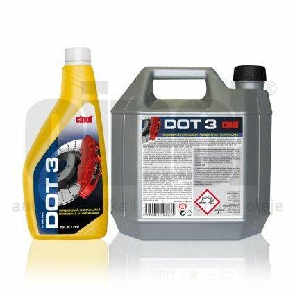 Cinol brzdová kapalina DOT 3 - 500ml
