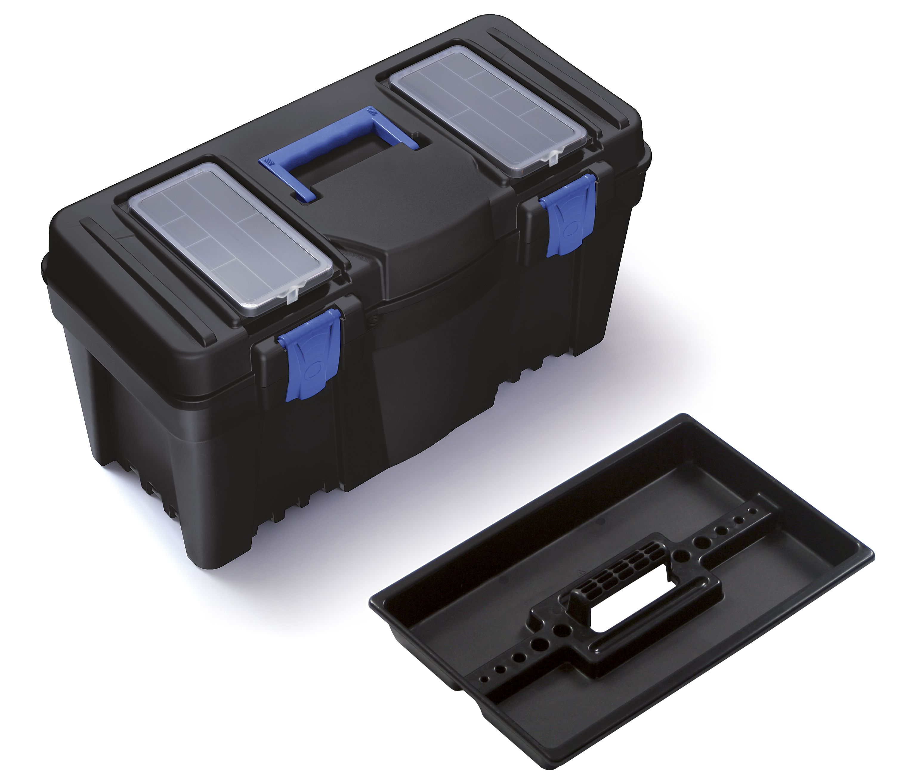 """Plastový box na nářadí 23,5"""", nosnost 21 kg, CALIBER SIXTOL"""