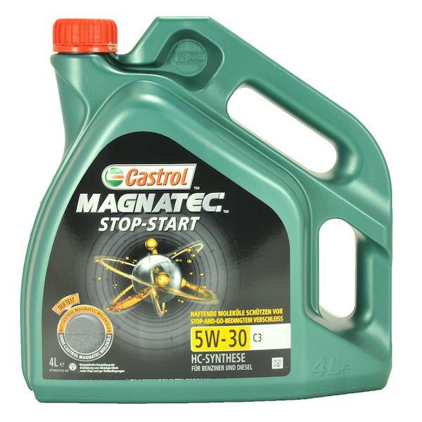 Motorový olej Castrol MAGNATEC STOP-START 5W30 C3 4L