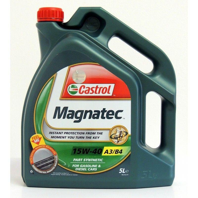 Motorový olej Castrol MAGNATEC 15W40 A3/B4 5L