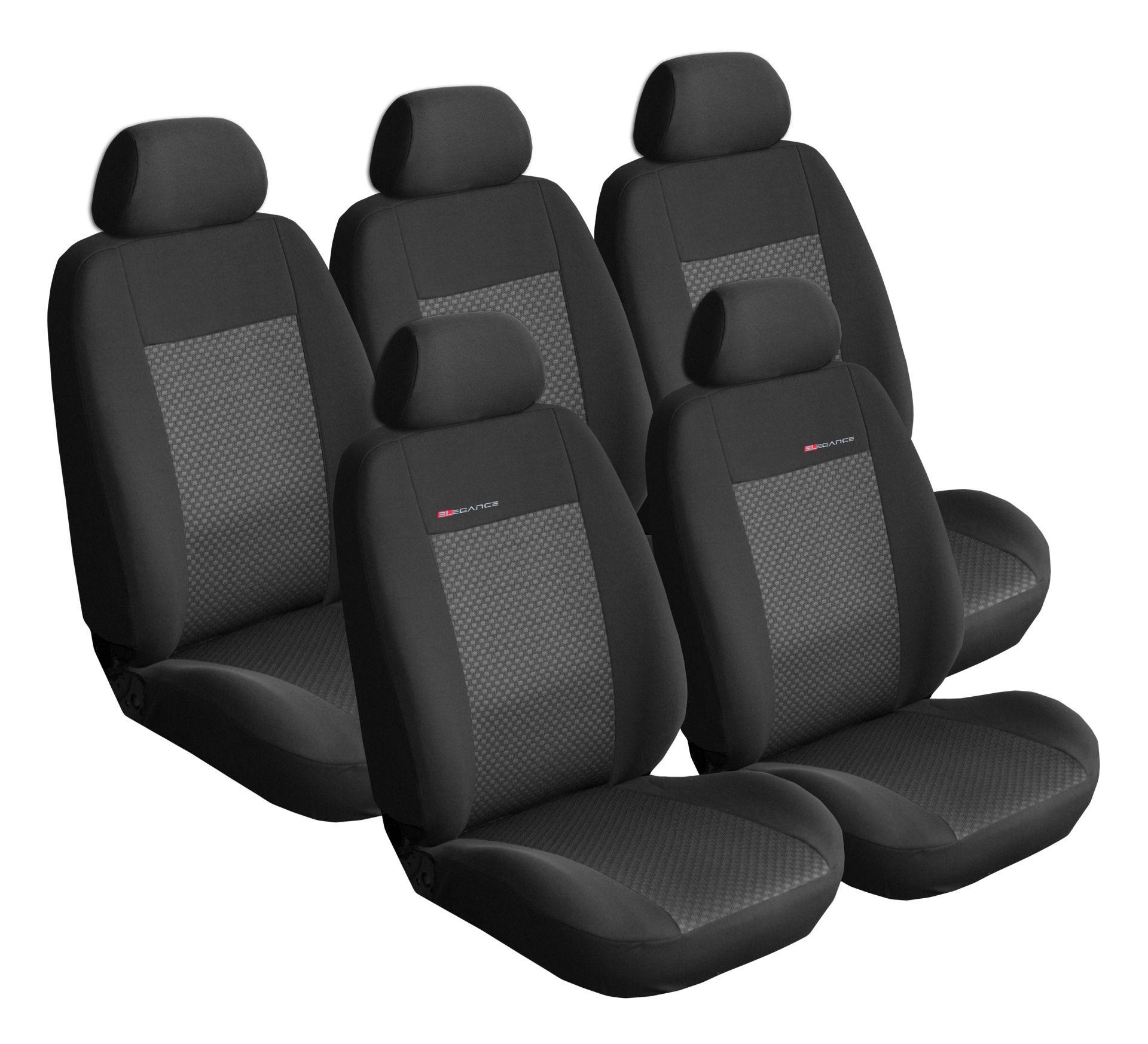 Autopotahy Citroen C4 Picasso II, od r.2010, 5 míst, černé SIXTOL