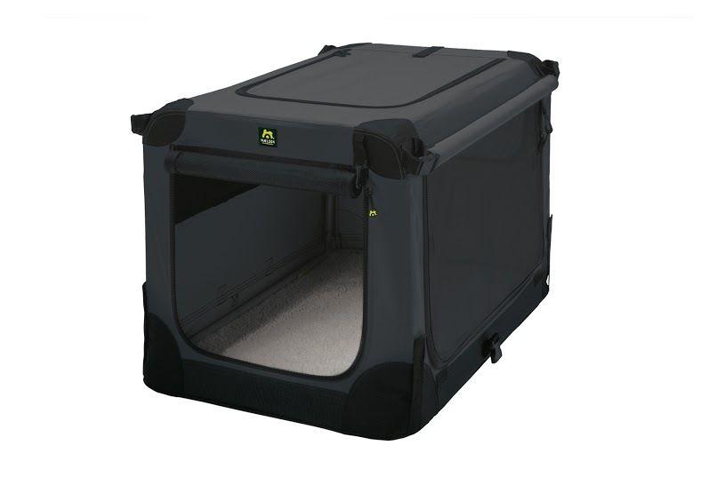 Maelson Soft Kennel Nylonová přepravka černo-antracitová XS 52x33x33