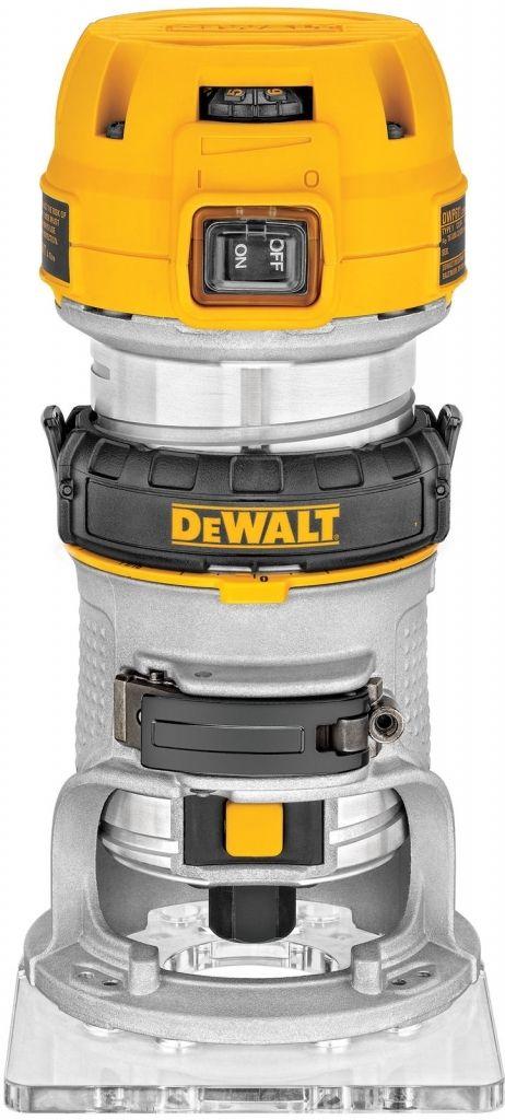 Pěstní ohraňovací frézka 900W DeWalt