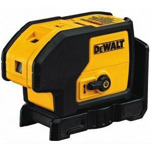 Dewalt Laser s 5 bodovými a jedním čárovým paprskem