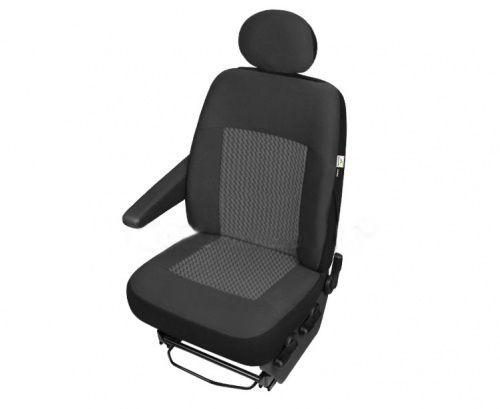 Autopotahy PERUN DV dodávka – 1 sedadlo SIXTOL