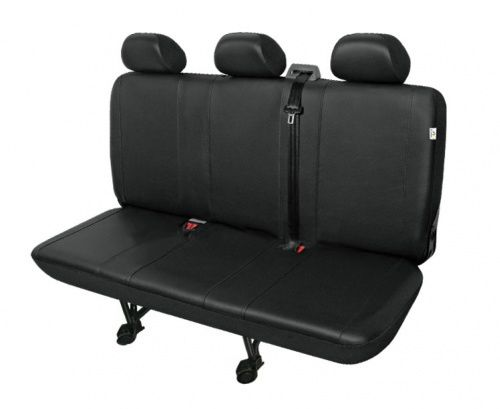 Autopotahy PRACTICAL DV dodávka - 3 sedadla, černé SIXTOL