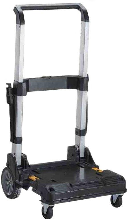 Tstak trolley, skládací teleskopický hliníkový vozík DeWalt