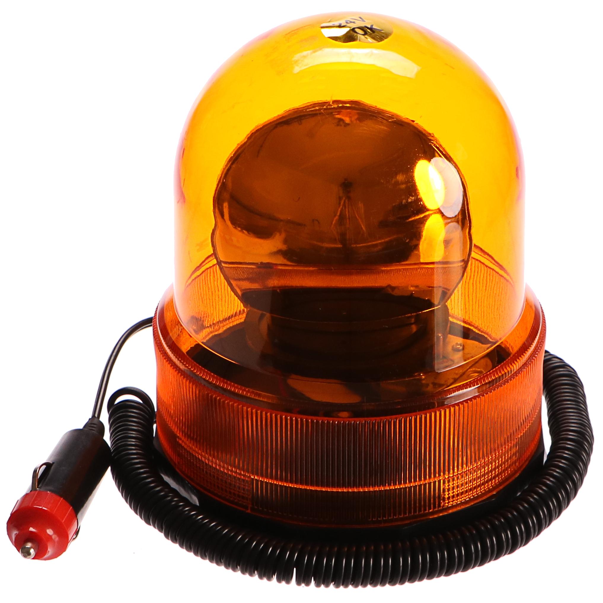 Oranžový maják, B 24V, GEKO