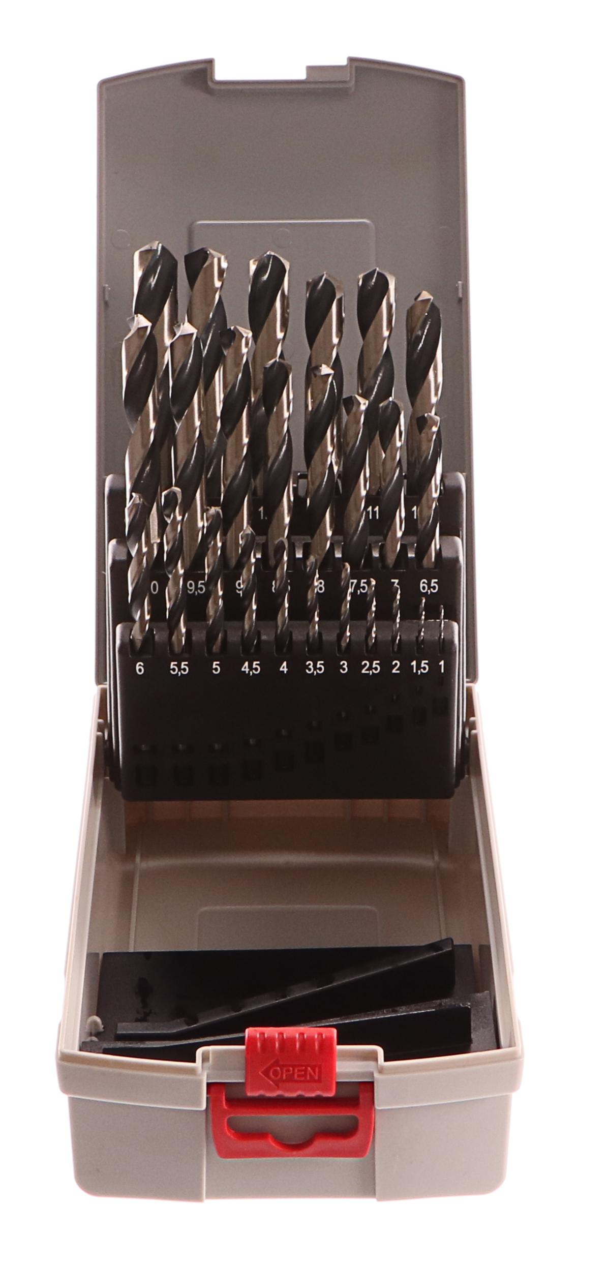 Vrtáky do kovu Twist Speed 25ks ProBox  - 3165140917704 BOSCH