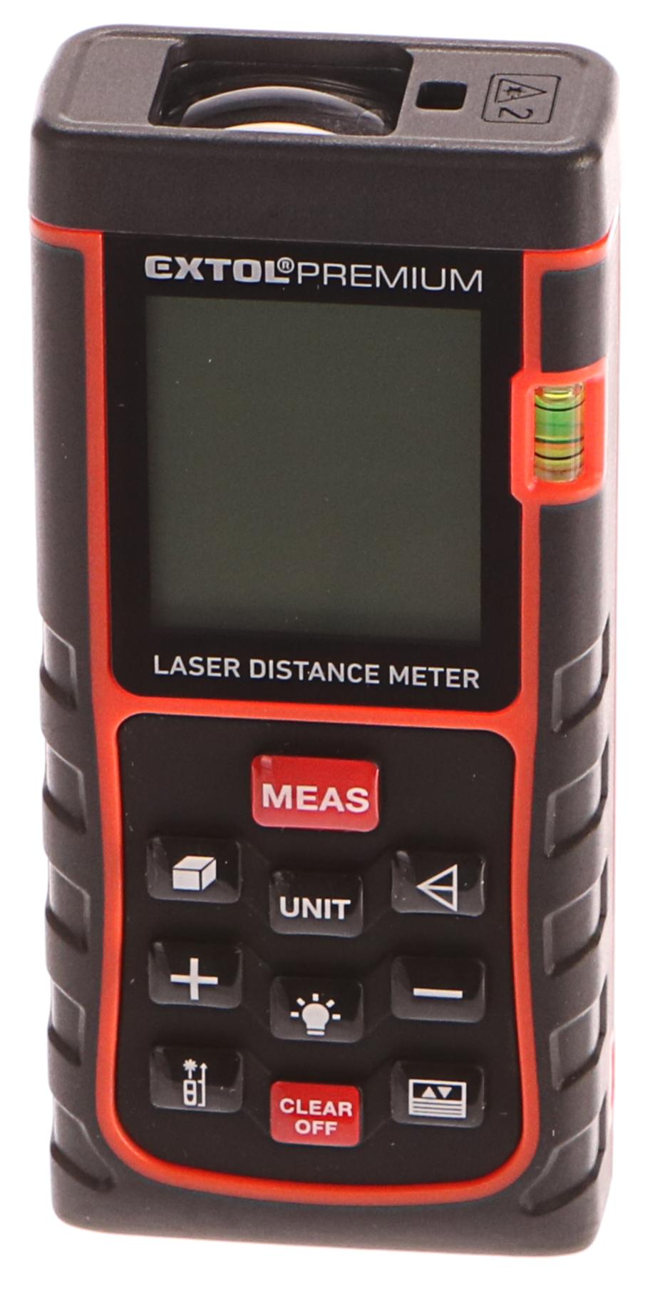 Metr laserový digitální, 0,05-40m EXTOL PREMIUM