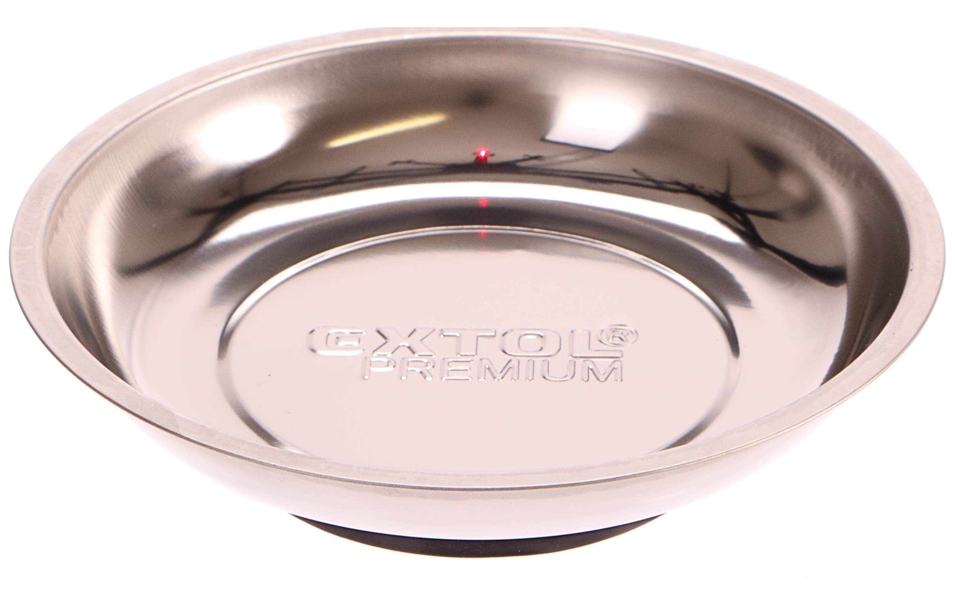 Miska magnetická nerez, 150mm, hloubka misky 25mm, magnet o pr. 80mm, EXTOL PREMIUM