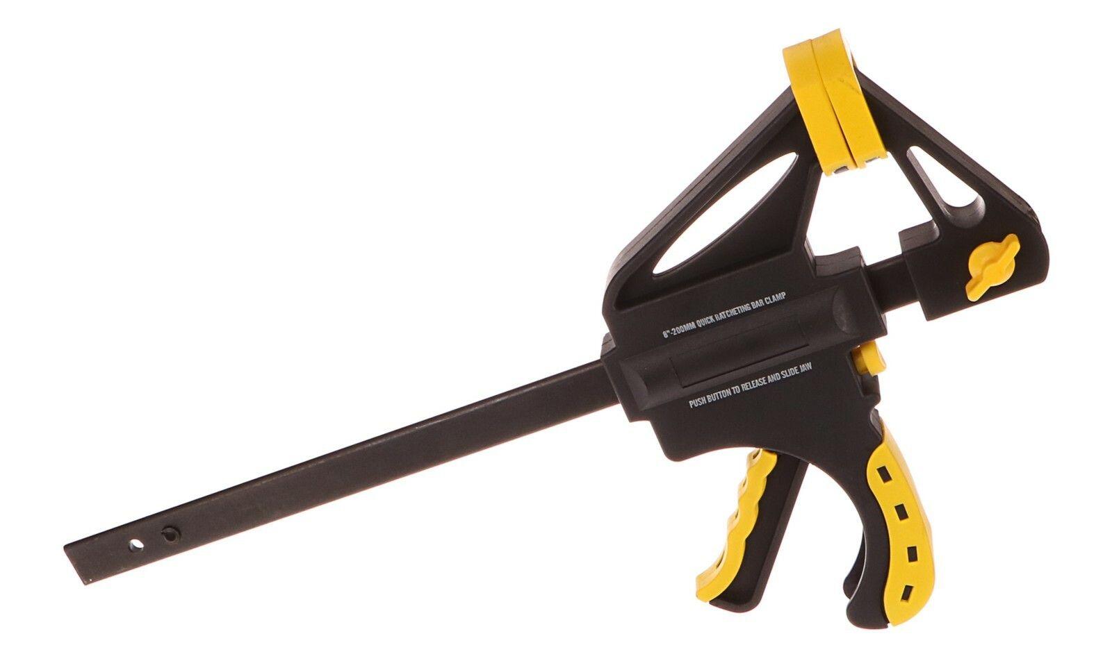 Svěrka rychloupínací HEAVY DUTY, 200mm, EXTOL CRAFT 715505