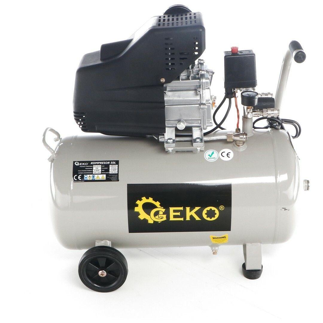 Kompresor olejový, 50l, GEKO