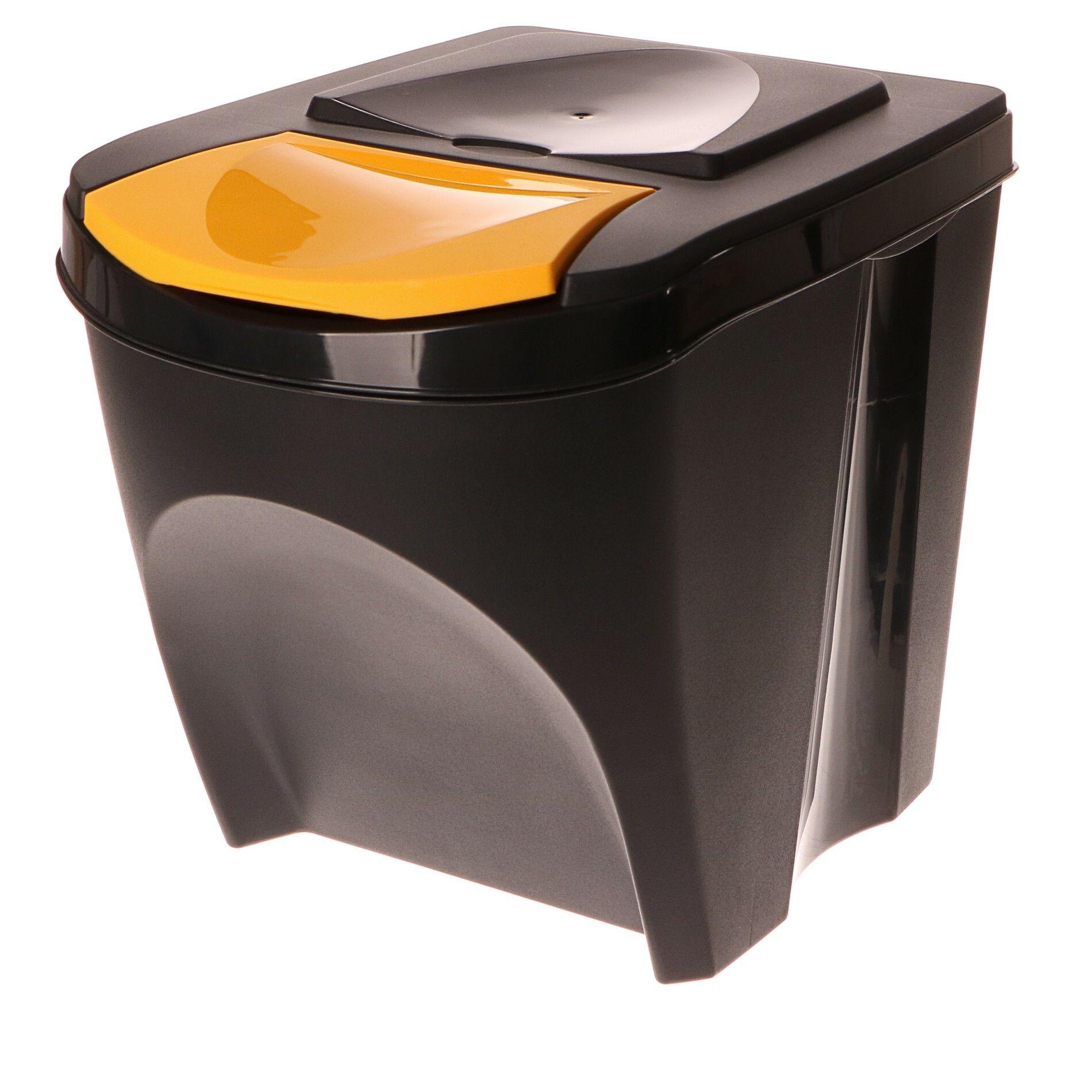 Odpadkový koš na plast SORTIBOX antracit 392X293X335 PROSPERPLAST