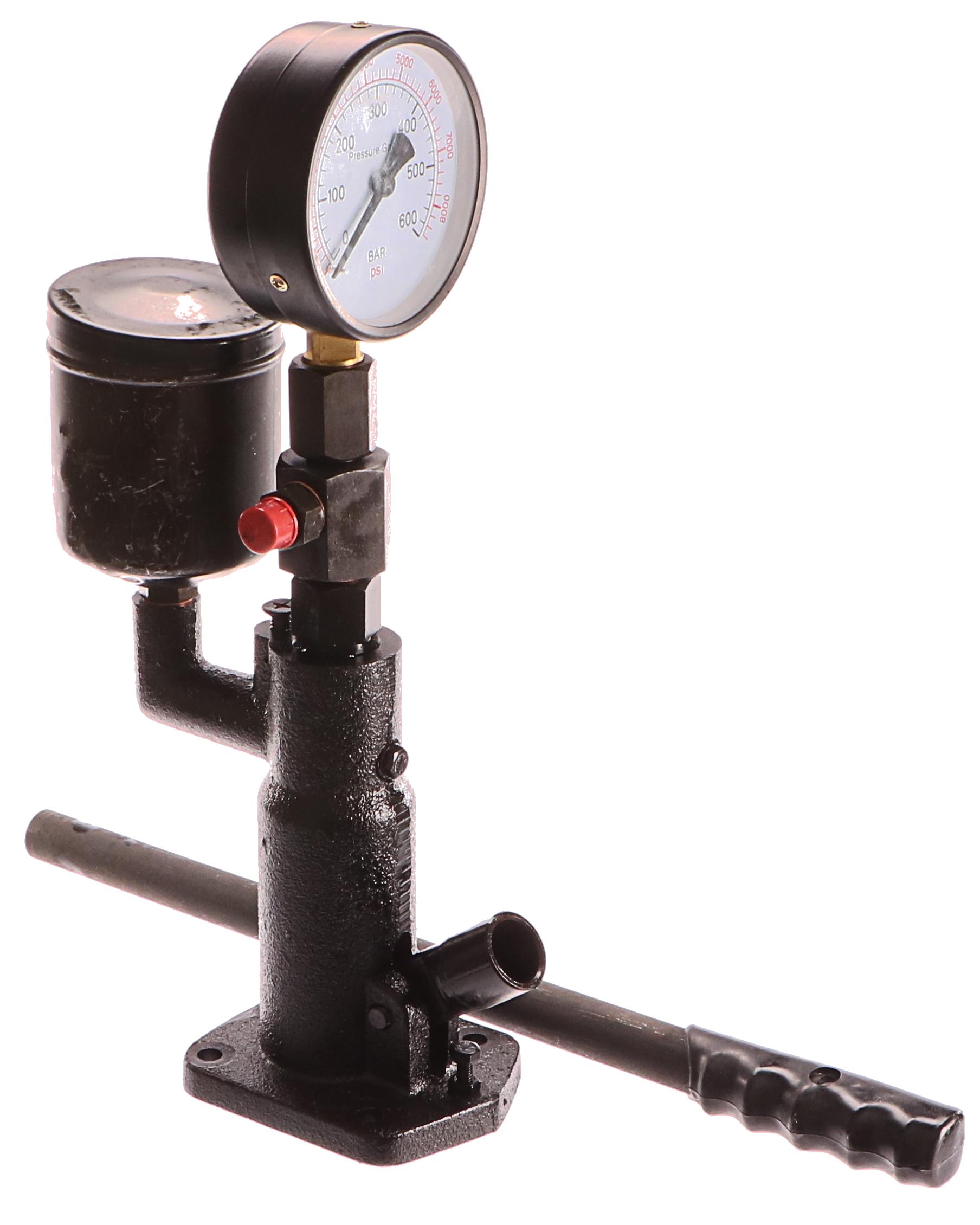 Tester tlaku vstřikovače, 600 barů, GEKO