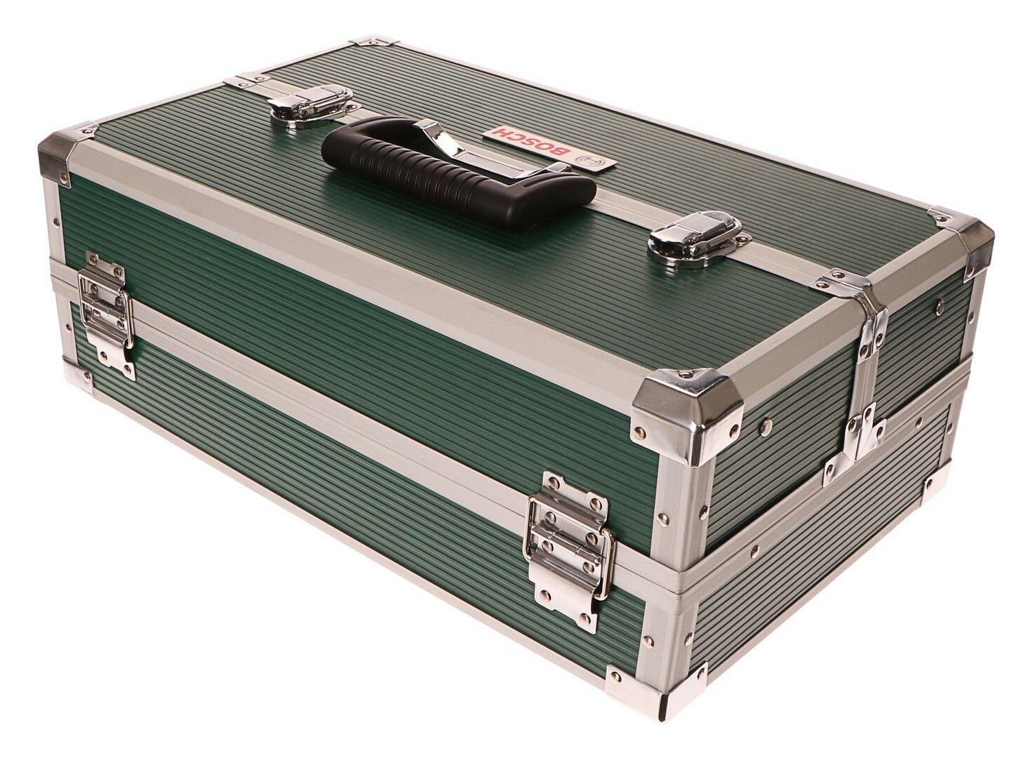 Kufr na nářadí s příslušenstvím 240ks - bity, vrtáky, hmoždinky, šrouby BOSCH