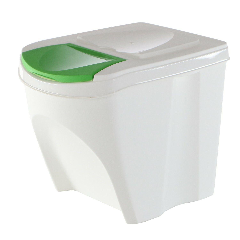 Odpadkový koš na sklo SORTIBOX bílá 392X293X335 PROSPERPLAST