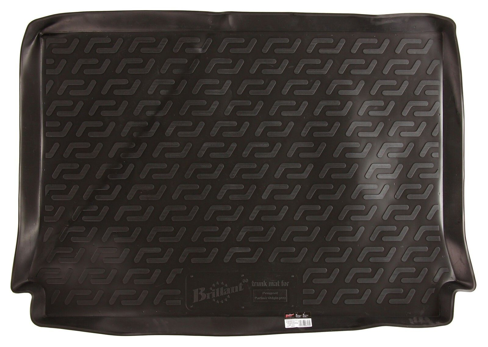 Vana do kufru gumová Peugeot Partner Origin I Facelift (03-09) SIXTOL