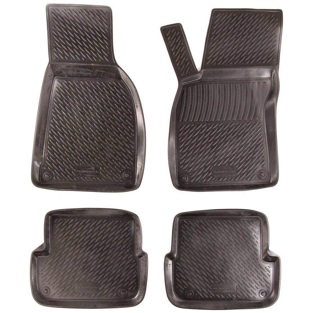 Gumové koberce Audi A6 Limousine / Avant (C6 4F) (04-11)  (2D) SIXTOL