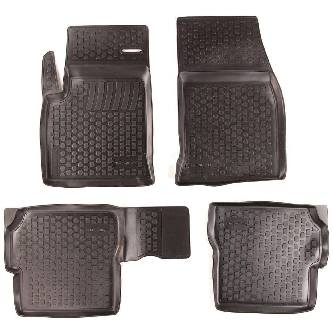 Gumové koberce Ford Fusion (JU) (02-12)  (2D) SIXTOL
