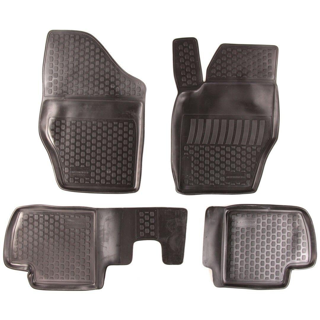 Gumové koberce Citroen C4 I Hatchback (LC) (04-10) (2D) SIXTOL