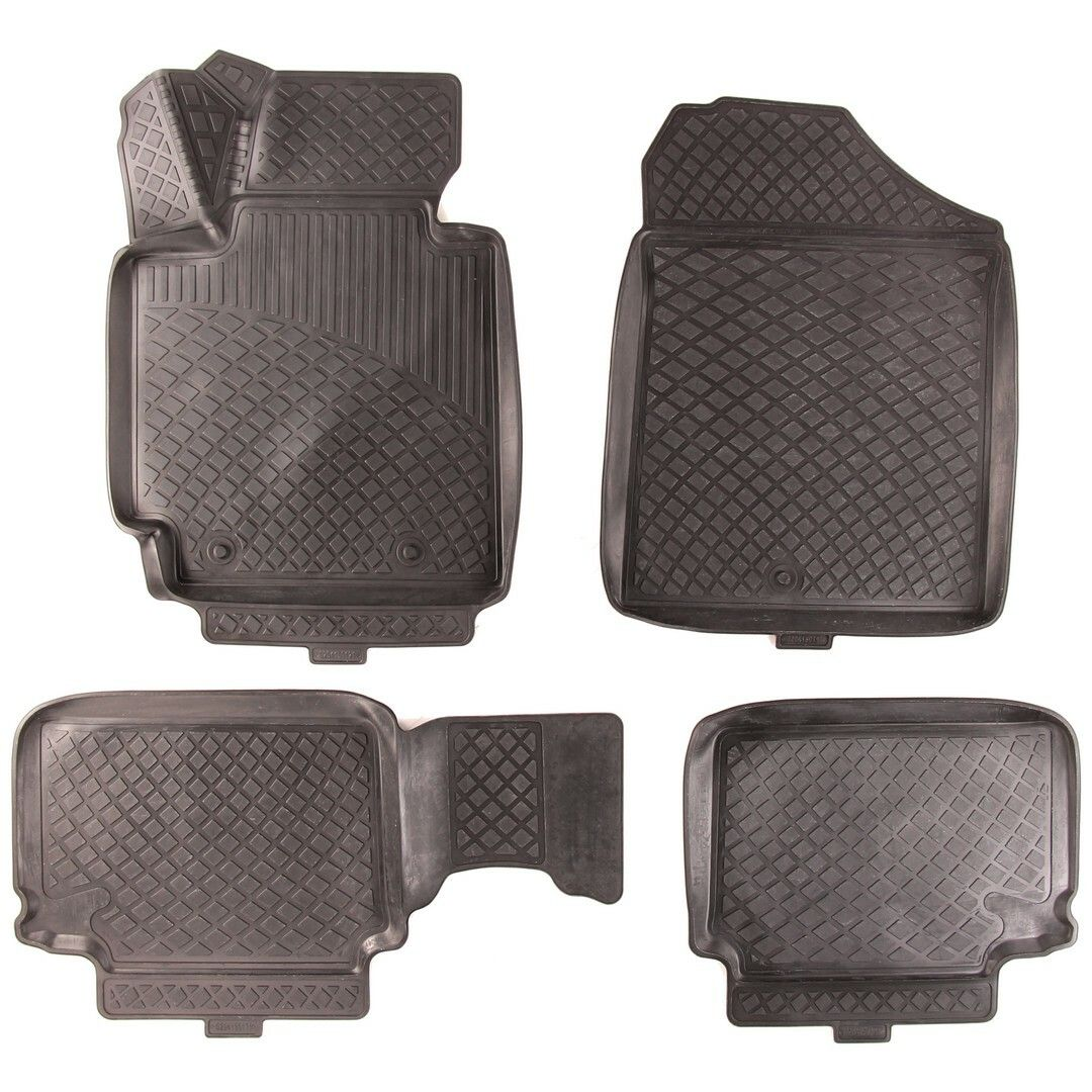 Gumové koberce Hyundai Veloster (FS) (11-)  (3D) SIXTOL