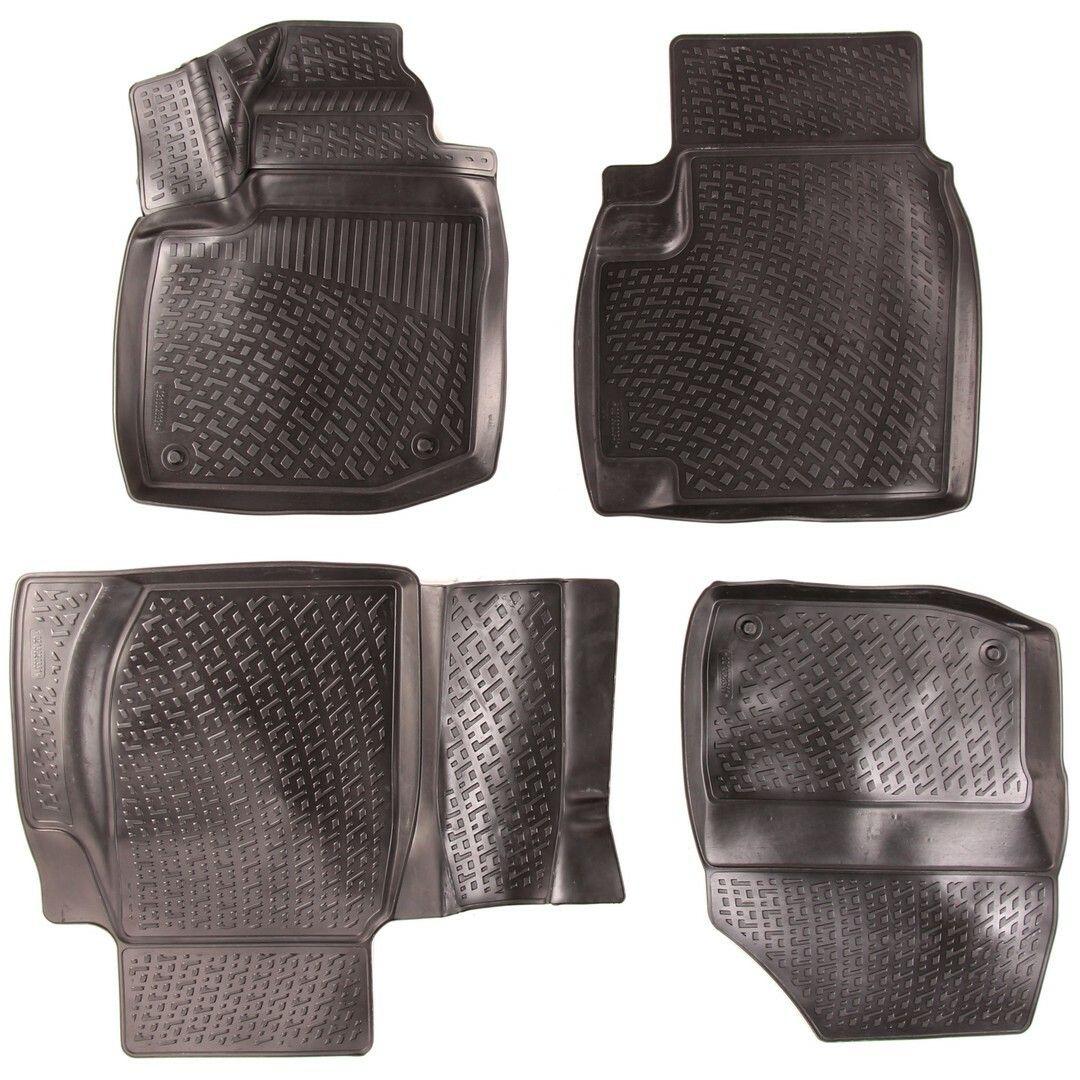 Gumové koberce Honda Civic IX (FB4/FG3/FB2/FG4/FB6) (5-dv) (11-)  (3D) SIXTOL