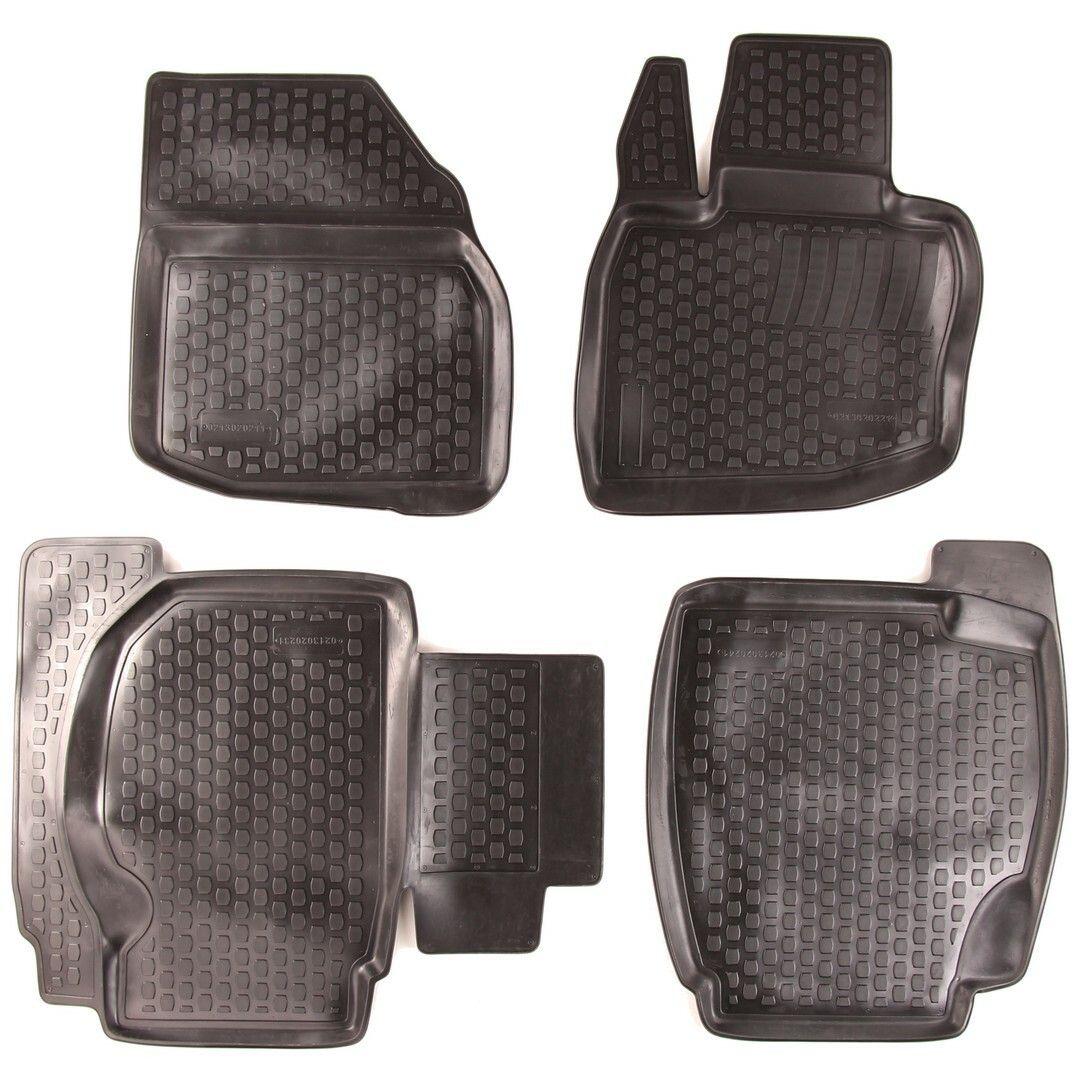 Gumové koberce Honda Civic VIII Hatchback (FD1/2/7 FA1 FG1/2 FA5 FK FN) (06-11)  (2D) SIXTOL