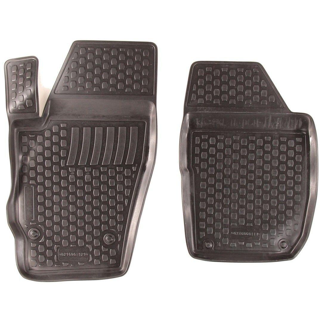 Gumové koberce Škoda Roomster I Praktik (5J8) (pouze přední) (2-sedadla) (06-) (2D) SIXTOL