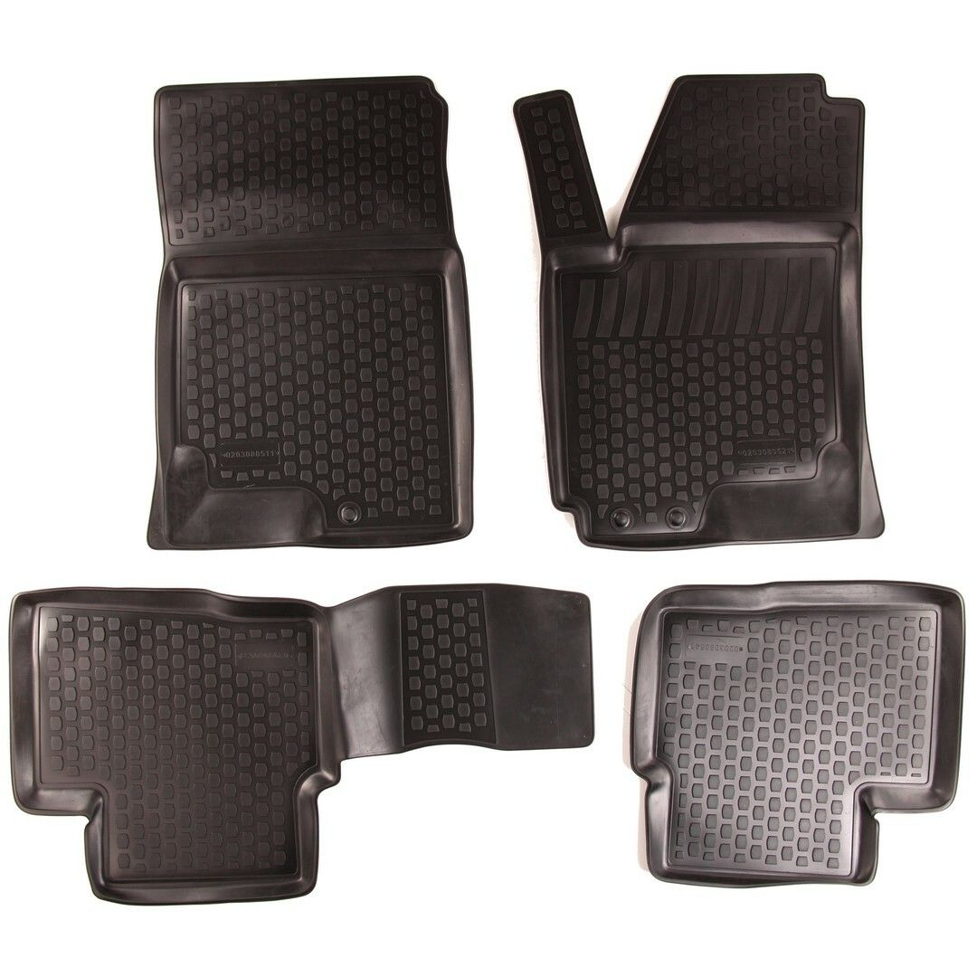 Gumové koberce Kia Ceed I (ED) Facelift (10-12) (2D) SIXTOL