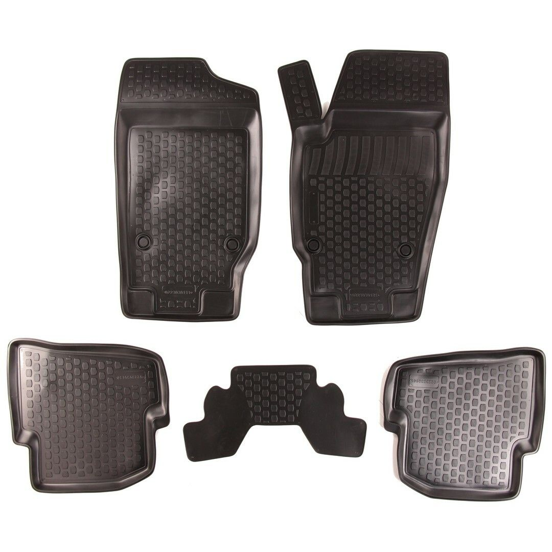 Gumové koberce Seat Ibiza IV (6J) (08-)  (2D) SIXTOL