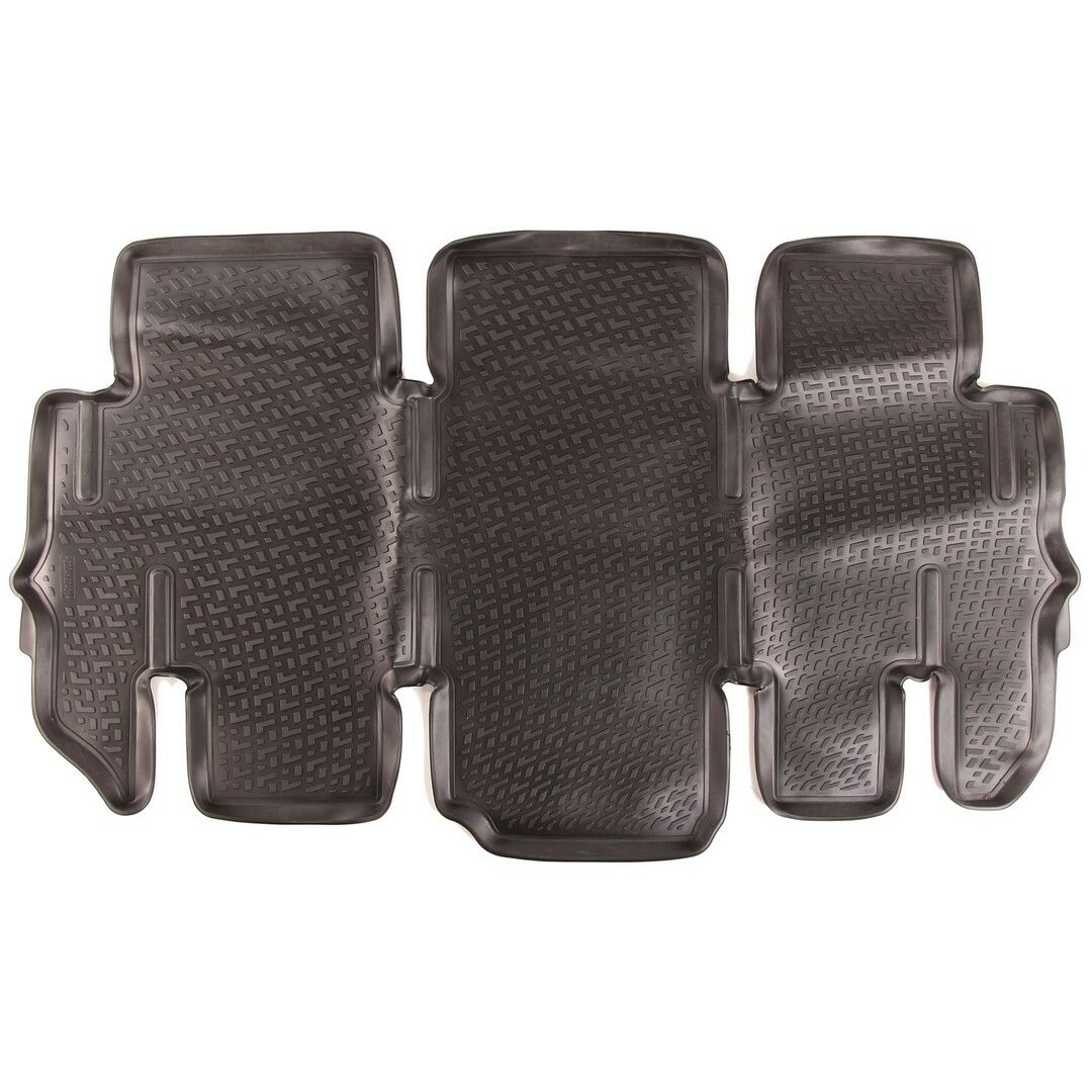 Gumové koberce Hyundai H1 / Starex (TQ) (třetí řada sedadel) (07-)  (3D) SIXTOL