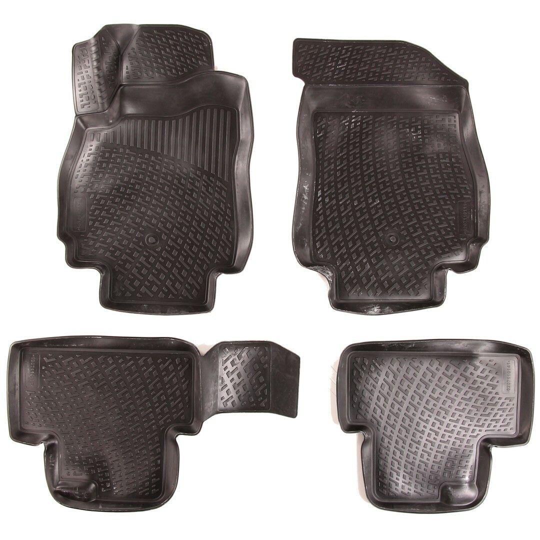 Gumové koberce Chevrolet Orlando (J309) (10-) (3D) SIXTOL